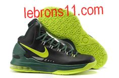 separation shoes 1bd09 f724b Kevin Durant 5 Black Electric Green Pine Green Strata Grey Shoes Pine,  Electric, The