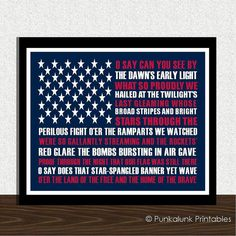Hey, I found this really awesome Etsy listing at http://www.etsy.com/listing/151163016/star-spangled-banner-patriotic-printable