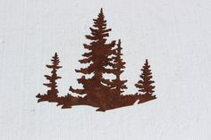 Pine Tree Scene Metal Wall Art Country Rustic Decor ** To view further for this item, visit the image link. (This is an affiliate link and I receive a commission for the sales) Cute Wall Decor, Rustic Wall Decor, Nursery Wall Decor, Metal Wall Decor, Metal Wall Art, Iron Wall, Western Decor, Girl Nursery, Metal Garden Art