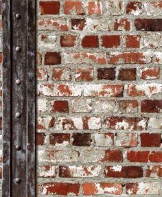 steen baksteen steenstrips 3D behang 102540