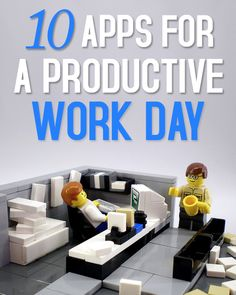 Be more productive and save time at work with these great apps.