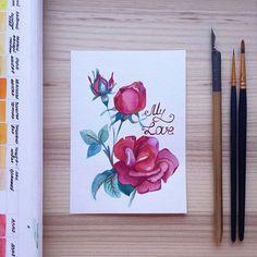 #acquarelle #акварелле #аквареллебрест #хобби #любовь #любимоедело #открыткиназаказ #рисунок #drawing #postcard #lettering #postcard #art #handmadetn #brest_by #color #picoftheday #instalike #flowers #watercolor #artwork #illustration #mylove #artinstagram #sketch #rose