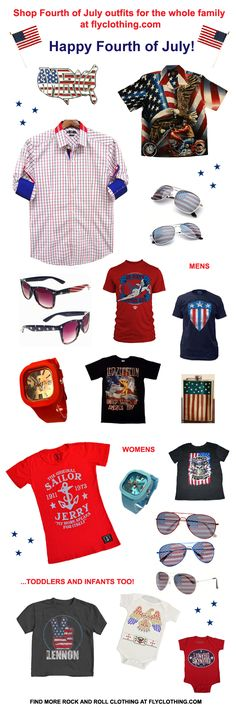 4th of july outfits guys