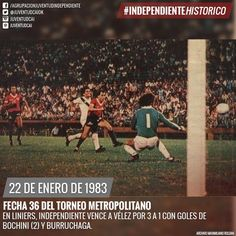 #IndependienteHistorico En Liniers, #Independiente vence a #Vélez por 3 a 1