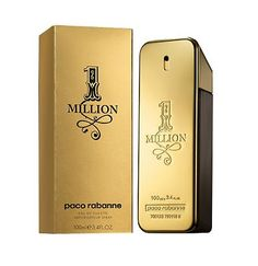 Paco Rabanne 1 Million 100ml Paco Rabanne Eau de Toilette Paco Rabanne 1 Million Eau de Toilette 100ml - A fresh, spicy leather fragrance, Paco Rabanne 1 Million is the expression of every mans fantasies. http://www.MightGet.com/february-2017-1/paco-rabanne-1-million-100ml-paco-rabanne-eau-de-toilette.asp