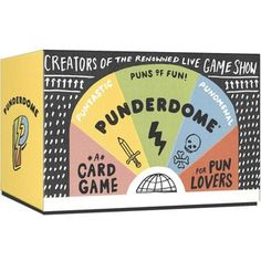 Punderdome: A Card Game for Pun Lovers (Cards) | Overstock.com Shopping - The Best Deals on Card Games