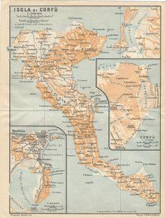 1914 Antique Map Of Alexandria Egypt Alexandria Egypt Antique