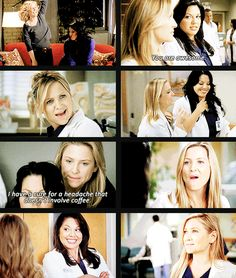 they were so adorable. right up until arizona went and lost her mind and cheated :/ that was rough Greys Anatomy Episodes, Greys Anatomy Funny, Greys Anatomy Characters, Grays Anatomy, Meredith And Derek, Arizona Robbins, Jessica Capshaw, Medical Drama, 50 Shades Of Grey