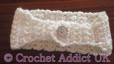 Crochet Addict UK: Free Crochet Chunky Headband Pattern