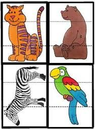 """Résultat de recherche d'images pour """"puzzle imprimer zoo"""""""