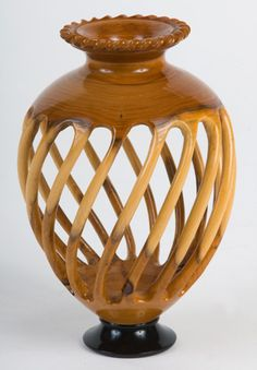 Stuart Mortimer, England  Fantastic piece! Great attention to detail. Share your woodturning pieces with us at Facebook.com/NOVAwoodworking and shop at www.novatoolsusa.com