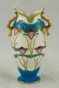 Minton Porcelain Art Nouveau Vase