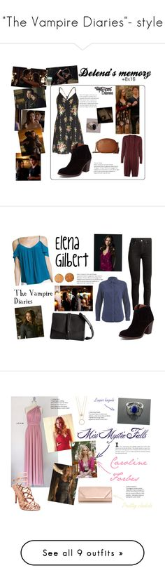 """""""""""The Vampire Diaries""""- style"""" by spencer-hastings-5 ❤ liked on Polyvore featuring Alice + Olivia, Dorothy Perkins, Lucky Brand, MICHAEL Michael Kors, Cullen, Joie, Vince Camuto, H&M, SELECTED and E L L E R Y"""