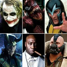 Joker, Carnage, Magneto, Loki, Kingpin & Bane