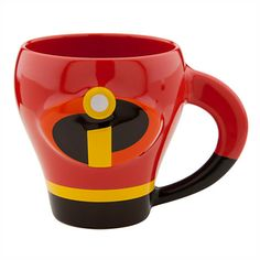 """Get your morning off to an incredible start! THE INCREDIBLES COFFEE MUG (from Disney-Pixar's """"The Incredibles"""")"""