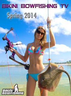 bowfishing bikini in a lakosky top Tiffany