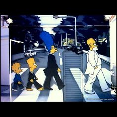 This work of my late brother Jean Reis is very significant for #me because I helped in its preparation. #RIP #Jeca #Poze #Graffiti #Beatles #Simpsons #Brasil #SaoPaulo #Photodroid #NoEffect  (Publicado com o Instagram)