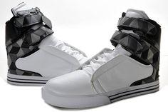 a8458ad8b3a07 www.suprafootwearoutletonline.info 2013-supra-tk-society-men-white-grey-black-plaid-leather-shoes-p-354.html  2013 Supra TK Society Men White Grey Black ...
