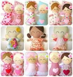 AMAZINGNESS. dolls by Cuckoo for Coco.