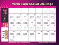 Squat/burpee challenge whos game!?