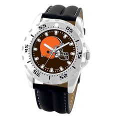 Officially licensed Cleveland Browns NFL football watch.