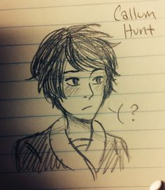 Callum Hunt | The Iron Trial | http://misterpoof.tumblr.com