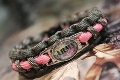 PROUD ARMY MOM - Paracord Survival Bracelet - Deployment - Survival - Bug Out - Memory - Son - Daughter  - Military