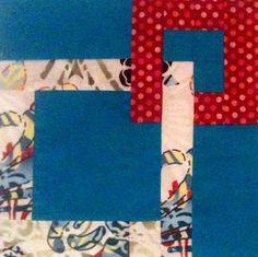 Linked Squares Quilt Block.  Nice tutorial.