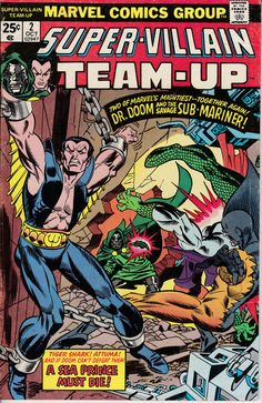 Super-Villain Team-Up 2 October 1975 Issue  Marvel by ViewObscura