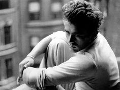 I love this picture of James Dean ...
