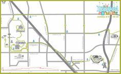 2014 Disneyland Half Marathon Course Map | Running at Disney | #runDisney #DisneylandHalf #DLHalf