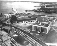 Maple Leaf Stadium in Toronto Toronto Ontario Canada, Toronto City, Canadian History, Historical Architecture, Landscape Photos, Aerial View, Old Pictures, Toronto Maple, Concert Venues