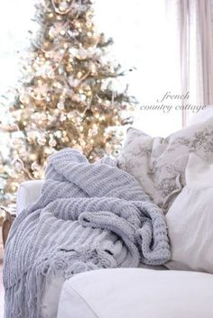 Christmas is incomplete without a cozy blanket to snuggle up on the couch with.
