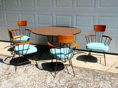 midcentury tables and chairs - Google zoeken