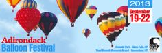 Adirondack Balloon Festival - The Largest Hot Air Balloon Festival In New York 19-22 sept