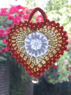 Heart. Crochet free pattern