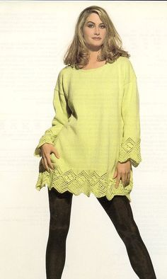 Bell Sleeves, Bell Sleeve Top, Knitting Paterns, Rubrics, Indian Wear, Tunic Tops, How To Wear, Women, Fashion