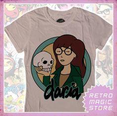 DARIA Girlie T-shirt MTV Helen Barksdale Jake Quinn | eBay