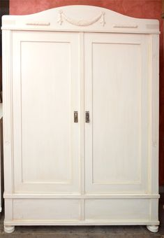 Kleiderschrank, Nadelholz, ca. 1900 Armoire, Furniture, Home Decor, Old Cabinets, Reach In Closet, Timber Wood, Clothes Stand, Decoration Home, Closet