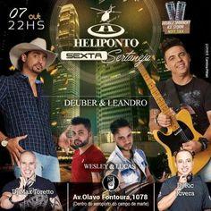 Heliponto Bar   Sexta Sertaneja Coloque seu nome na lista pelo link: http://www.baladassp.com.br/balada-sp-evento/Heliponto-Bar/524 Whats: 951674133