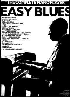 Title Slide of Sheet music the complete piano player easy blues[1] Easy Sheet Music, Piano Sheet Music, Music Sheets, Lady Sings The Blues, Jazz, Piano Player, Boogie Woogie, Piano Teaching, Blues Music