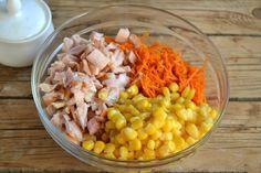 Кулинария салат с корейской морковью