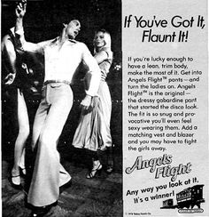 Yes, flaunt that rare male camel toe and the rank odor that emanates from your groin area because you're working up a sweat while wearing pants made from a fabric that doesn't naturally breathe.  The ladies will love the aphrodisiacal aroma of your crotch funk.