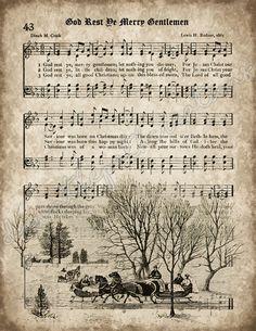 Christmas Songs Lyrics, Christmas Sheet Music, Christmas Poster, Christmas Carol, Christmas Pictures, Vintage Christmas, Xmas, Christmas Printables, Christmas Crafts