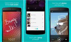 Descargar LokLok para Android, mensajes en tu pantalla de bloqueo
