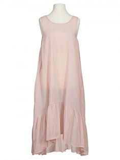 Damen Baumwoll Kleid, rosa von Diana bei www.meinkleidchen.de