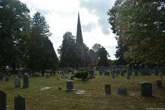 St. Mary's Church and Cemetery in Burlington, NJ.