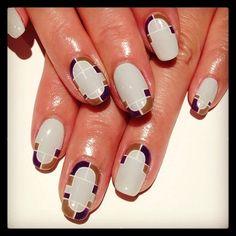 Art Déco #nail #nails #nailart