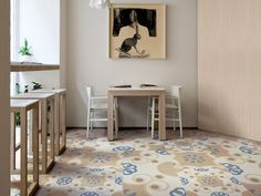 Pavimento in gres porcellanato TRADITION Collezione FRAME by Ceramiche Refin | design Studio FM Milano