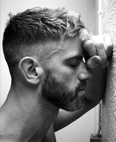 Big difference between the clean hair and the mustache . - New Popular Pins Hairstyles Haircuts, Haircuts For Men, Long Haircuts, Handsome Men Quotes, Handsome Man, Strong Woman Tattoos, Fade Haircut, Crop Haircut, Hair And Beard Styles